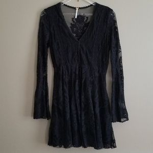 Free People Reign Over Me Lace Dress - Size 8
